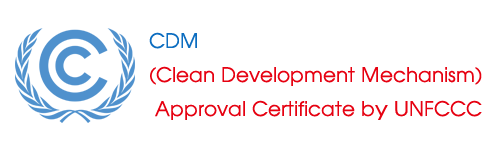 CDM (Clean Development Mechanism) Approval Certificate by UNFCCC